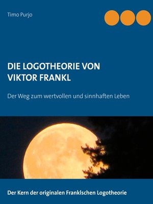 cover image of Die Logotheorie von Victor Frankl