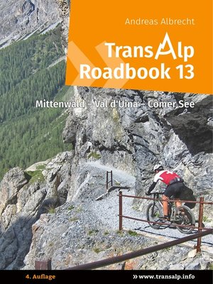 cover image of Transalp Roadbook 13