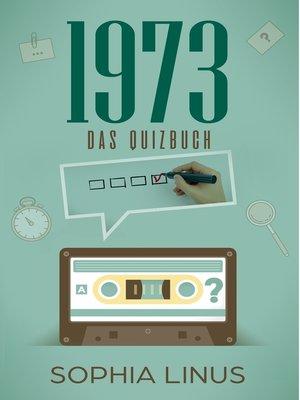 cover image of Das Jahr 1973