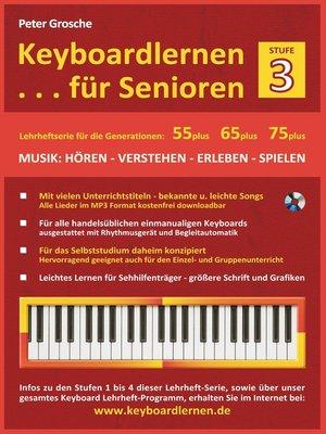 cover image of Keyboardlernen für Senioren (Stufe 3)