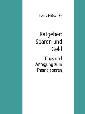 cover image of Ratgeber--Sparen und Geld verdienen