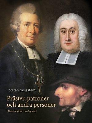 cover image of Präster, patroner och andra personer