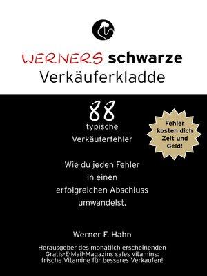 cover image of Werners schwarze Verkäuferkladde