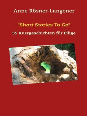 "cover image of ""Short Stories to Go"""