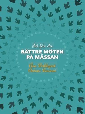 cover image of Så får du bättre möten på mässan