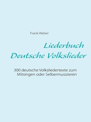 cover image of Liederbuch (Deutsche Volkslieder)