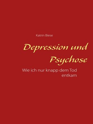 cover image of Depression und Psychose