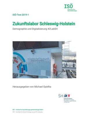 cover image of Zukunftslabor Schleswig-Holstein