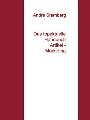 cover image of Das topaktuelle Handbuch  Artikel--Marketing
