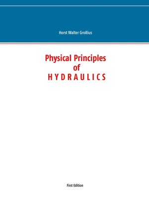cover image of Physical Principles of Hydraulics