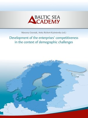 cover image of Development of the enterprises' competitiveness in the context of demographic challenges