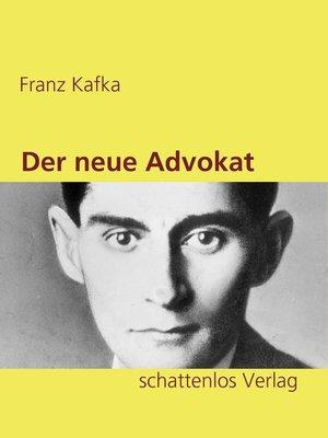 cover image of Der neue Advokat
