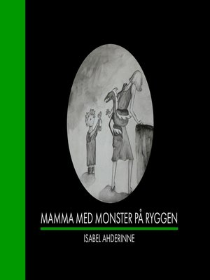 cover image of Mamma med monster på ryggen