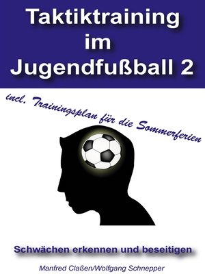 cover image of Taktiktraining im Jugendfußball 2
