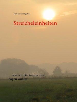 cover image of Streicheleinheiten