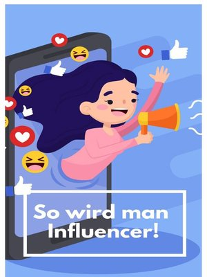 cover image of So wird man Influencer!