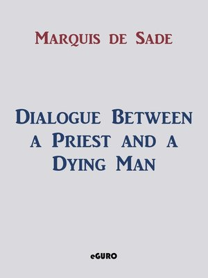 cover image of Dialogue Between a Priest and a Dying Man