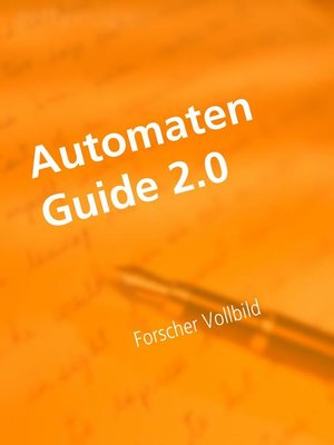cover image of Automaten Tipps 2.0
