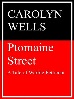 cover image of Ptomaine Street