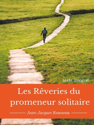 cover image of Les rêveries du promeneur solitaire