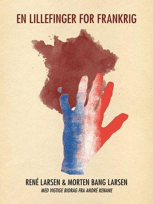 cover image of En lillefinger for Frankrig