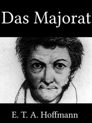 cover image of Das Majorat