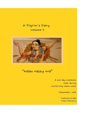 cover image of A Pilgrim's Diary, Volume 3