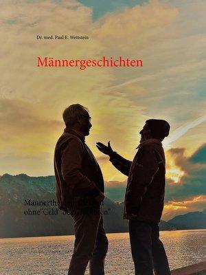 cover image of Männergeschichten
