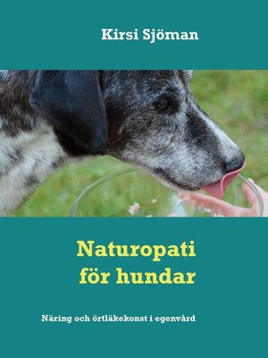 cover image of Naturopati för hundar