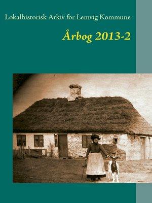 cover image of Lokalhistorisk Arkiv for Lemvig Kommune