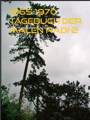 cover image of 1965-1970 Tagebuch der Malen Radi-2
