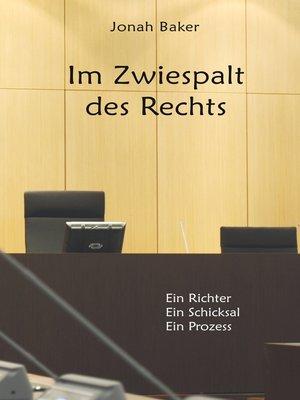 cover image of Im Zwiespalt des Rechts