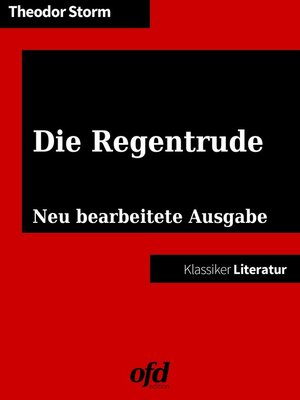 cover image of Die Regentrude