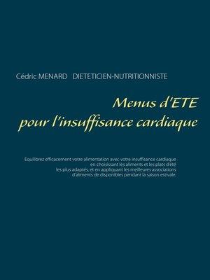 cover image of Menus d'été pour l'insuffisance cardiaque
