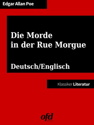 cover image of Die Morde in der Rue Morgue--The Murders in the Rue Morgue