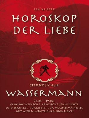 cover image of Horoskop der Liebe – Sternzeichen Wassermann