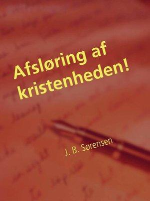cover image of Afsløring af kristenheden!