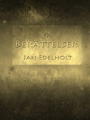 cover image of 4 berättelser