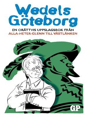 cover image of Wedels Göteborg