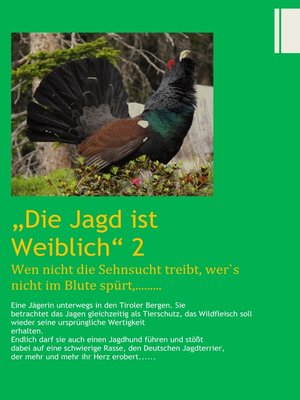 cover image of Die Jagd ist Weiblich 2