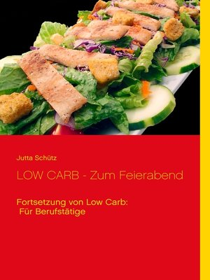 cover image of LOW CARB--Zum Feierabend