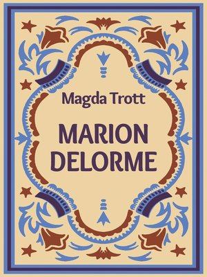 cover image of Marion Delorme