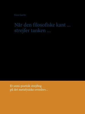 cover image of Når den filosofiske kant