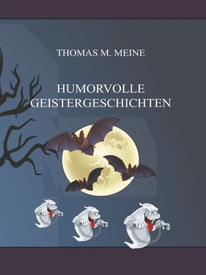 cover image of Humorvolle Geistergeschichten
