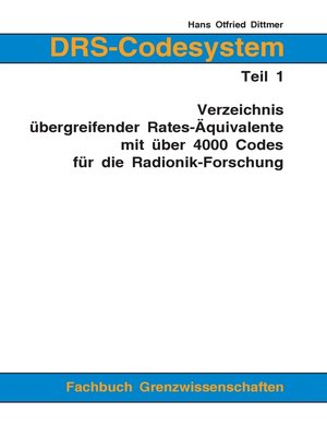 cover image of DRS-Codesystem Teil 1