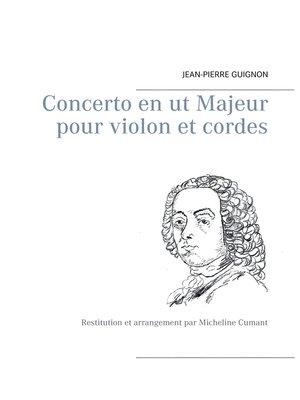 cover image of Concerto en ut Majeur pour violon et cordes