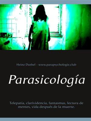 cover image of Parasicología