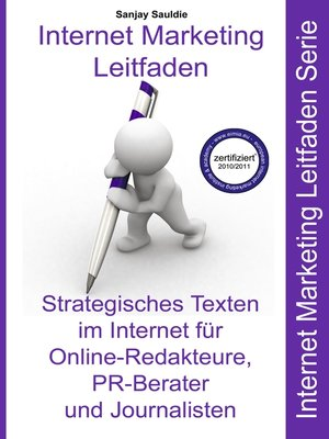 cover image of Strategisches Texten im Internet für Online-Redakteure, PR-Berater und Journalisten