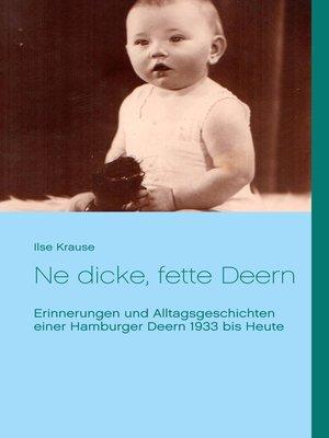 cover image of Ne dicke, fette Deern