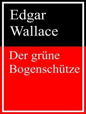cover image of Der grüne Bogenschütze